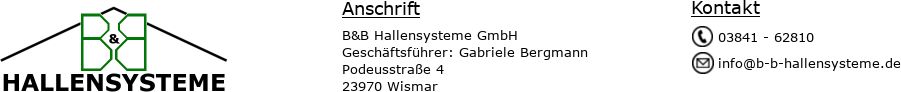 B&B Hallensysteme